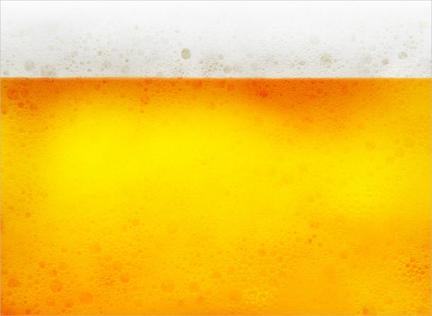 yellow beer texture