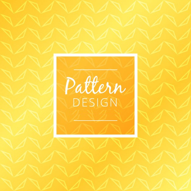 yellow pattern design free vector