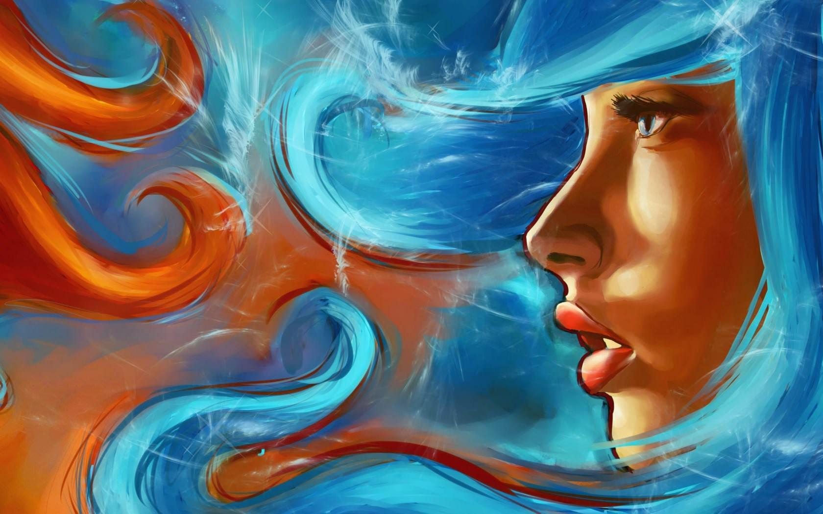 painting-art-beautiful-girl-face-hd-wallpaper