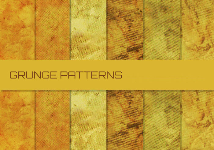 10 Beige Grunge Patterns