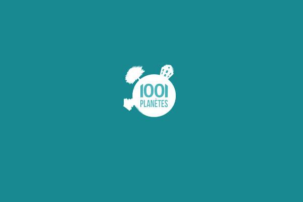 1001 Planet Logo Design