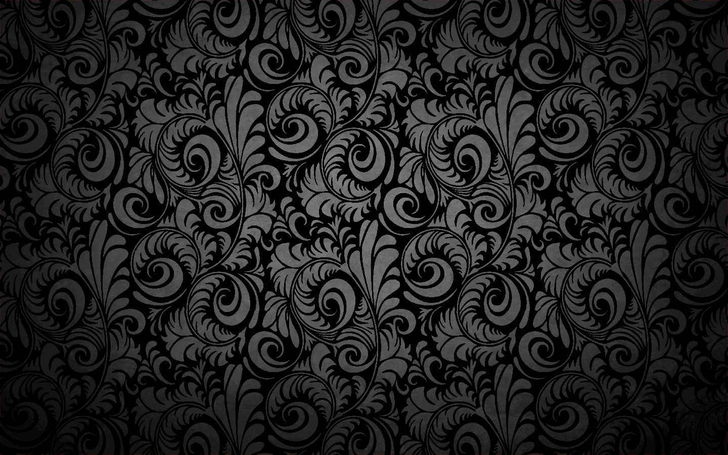 Abstract Floral Pattern For Desktop
