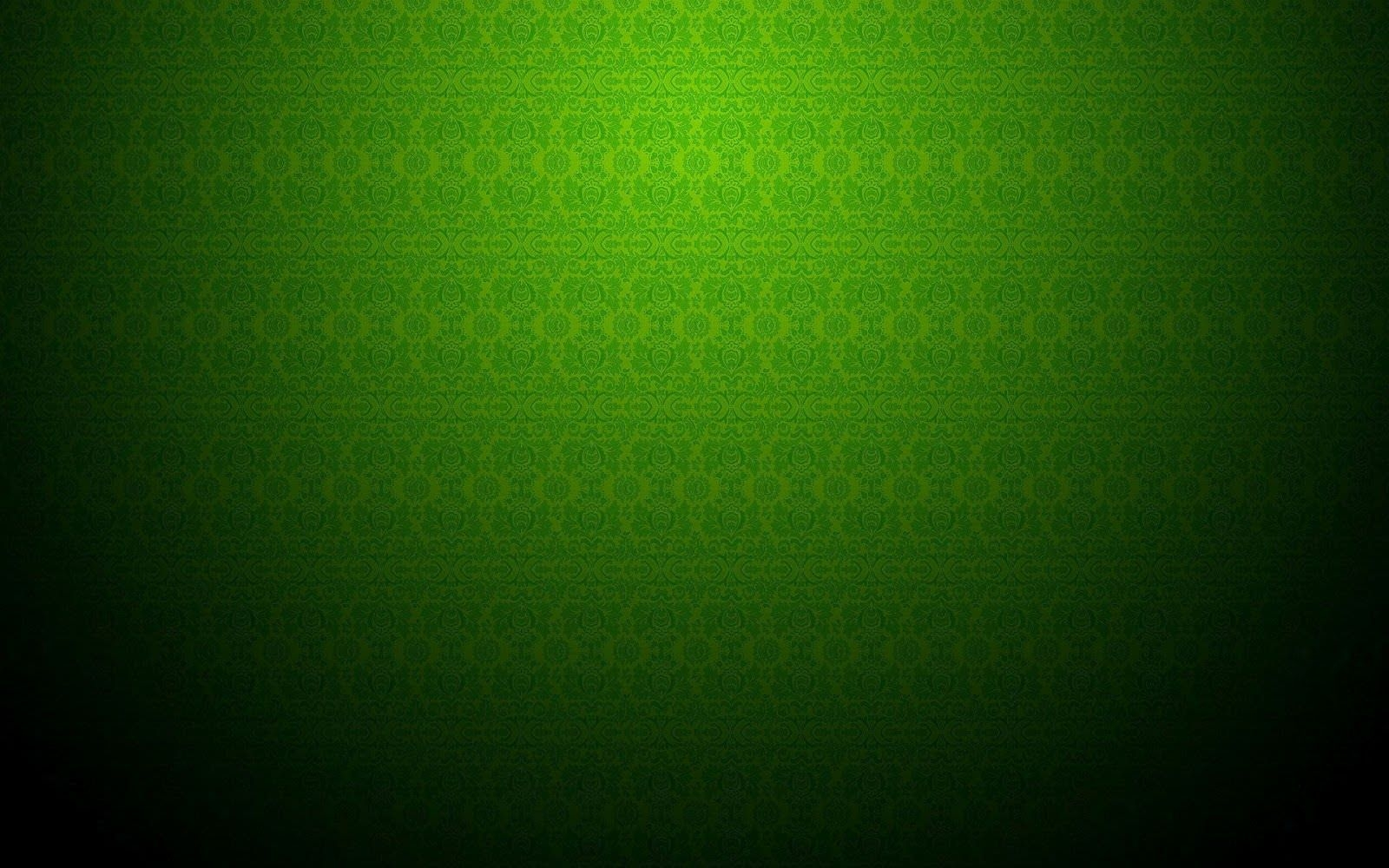 Abstract Green Floral Wallpaper