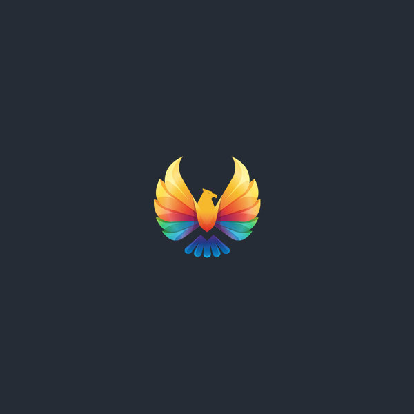 Advertising Agency Bird Logo