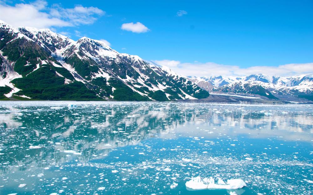 Alaska Snow Widescren Wallpaper