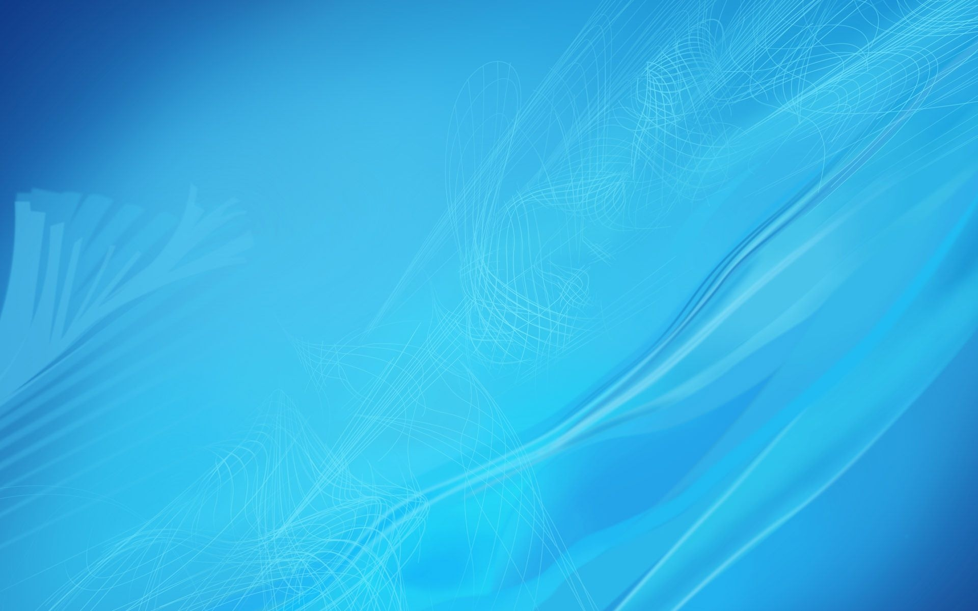Amazing Blue Abstract Wallpaper
