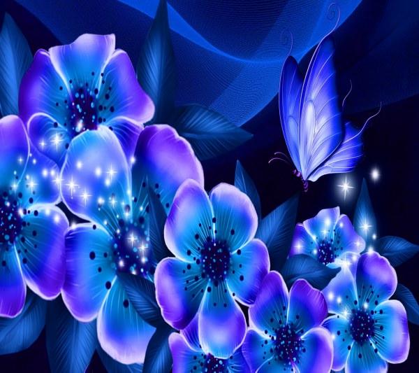 Amazing Blue Dream Wallpaper