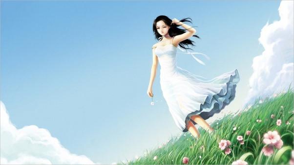 Amazing Fantasy Girl Wallpaper