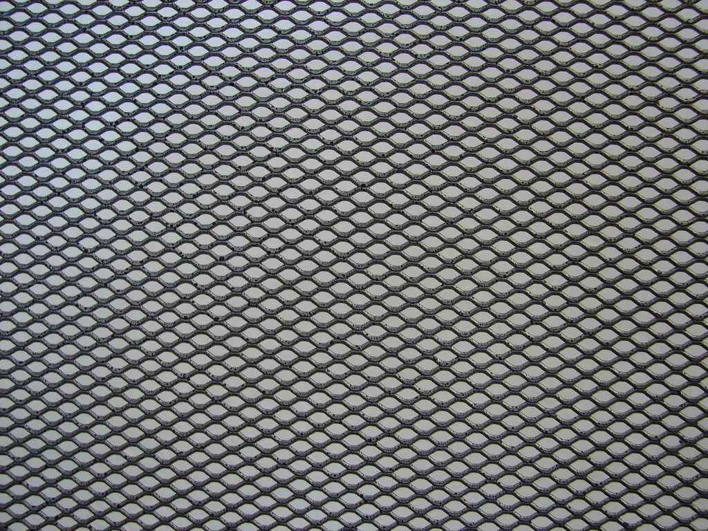 Amazing Metallic Grid Pattern