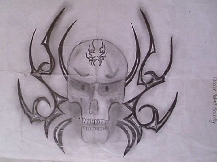 Amazing Skull Drawings For Free