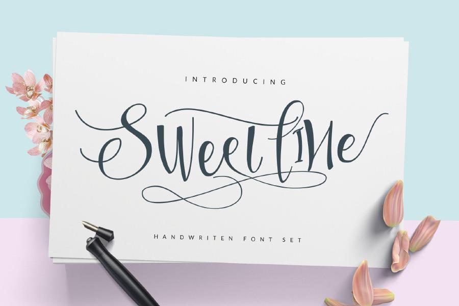 Amazing Sweet Line font