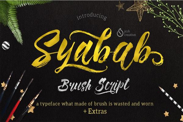 Amazing Syabab Font