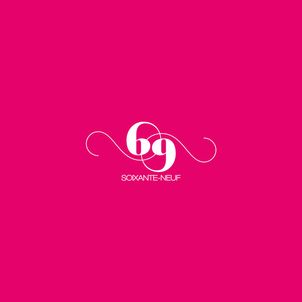 Ambigram Pink Logo Design