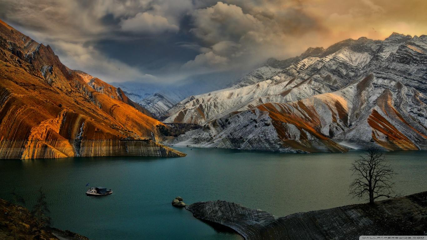 Amirkabir Dam Landscape Wallpaper