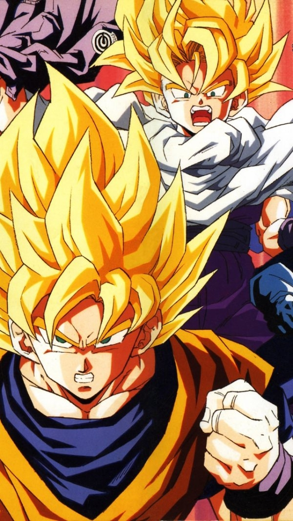 Anime Dragonball iPhone Wallpaper