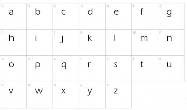 Aquiline Normal Font