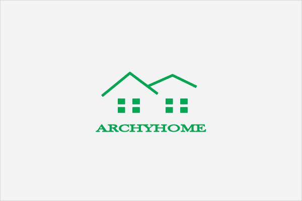 Archy Home Logo Design