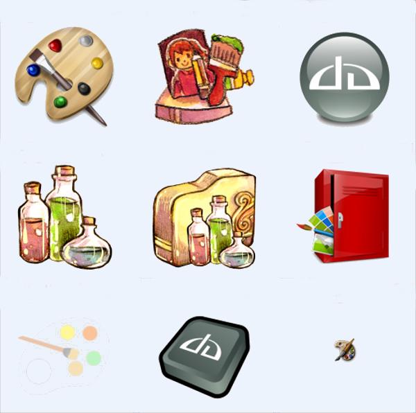 Art Icons For Desktop