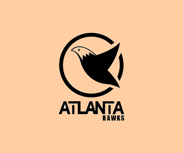 Atlanta Hawks Logo Design