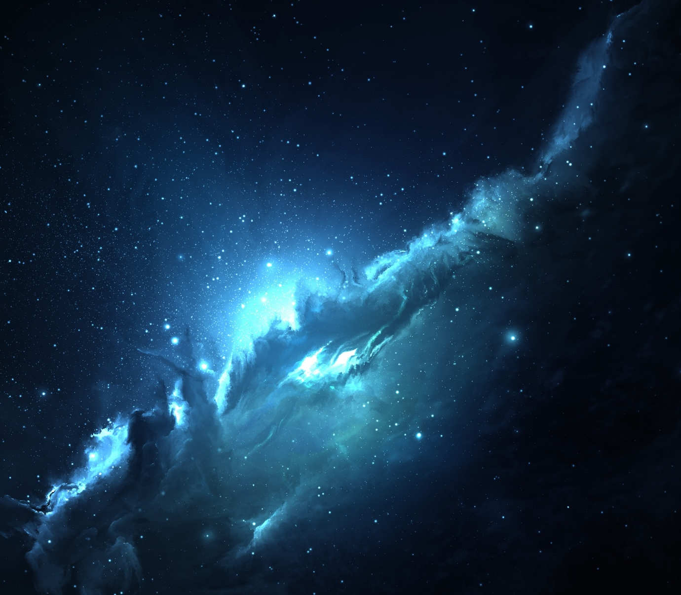Atlantis Nebula Wallpaper