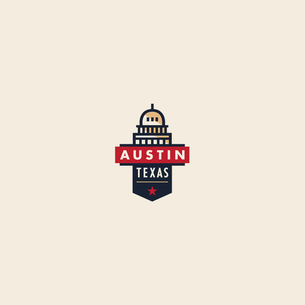 Austin Building Badge Logo
