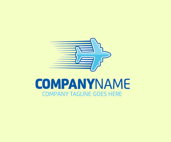 Automotive transport Airlines Logo
