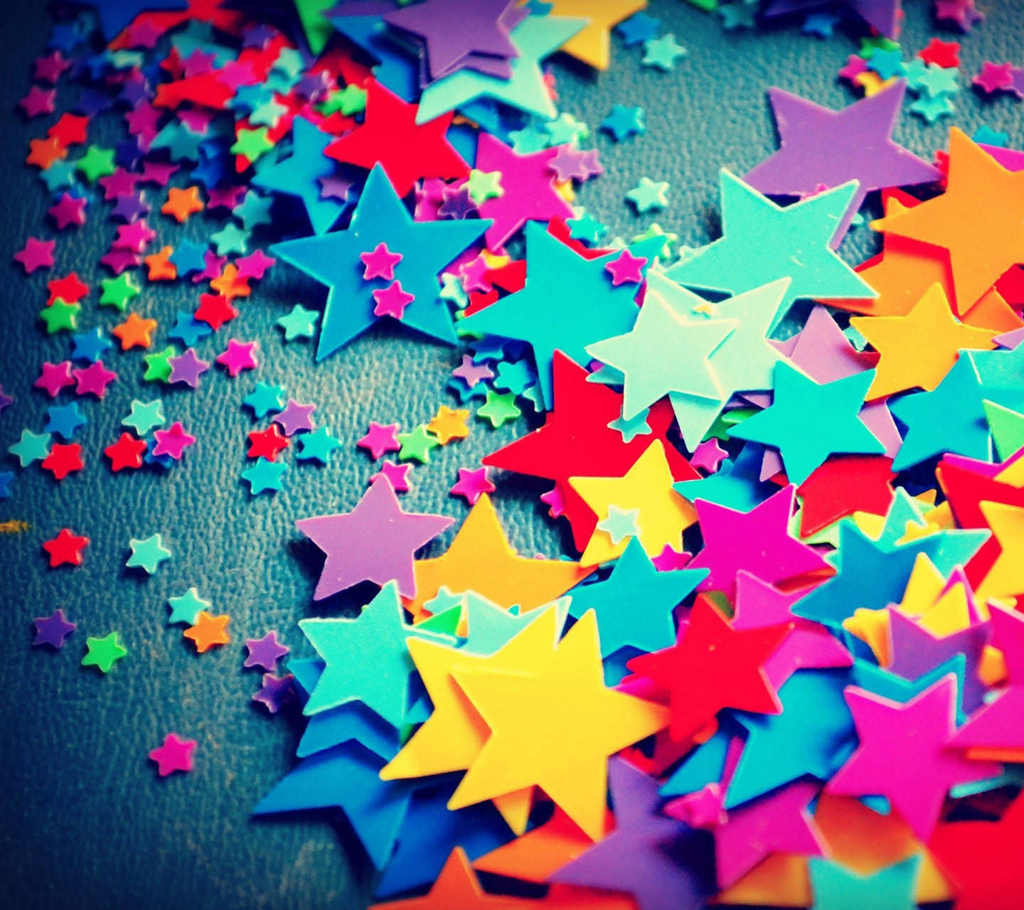 Awesome Colorful Stars Wallpaper