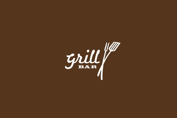 Awesome Grill Bar Logo
