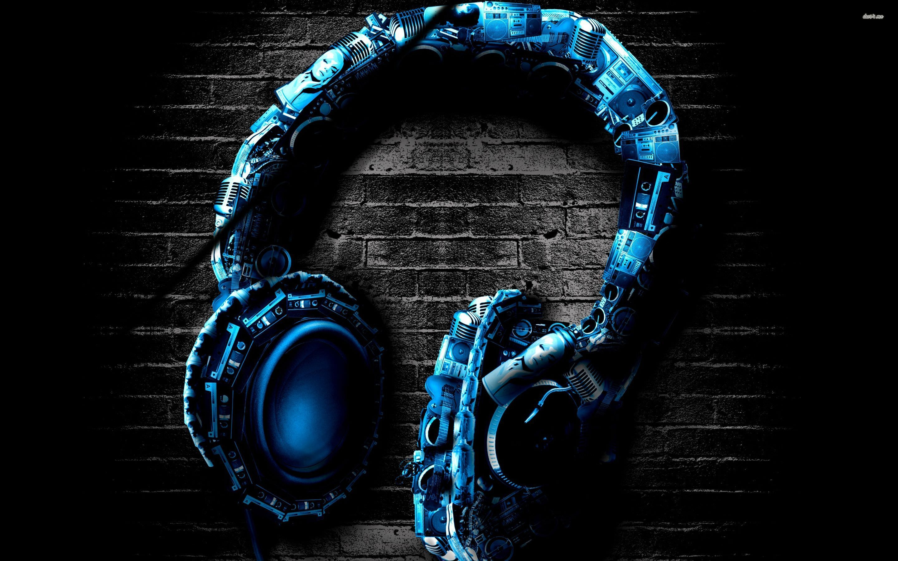 awesome headphones wallpaper