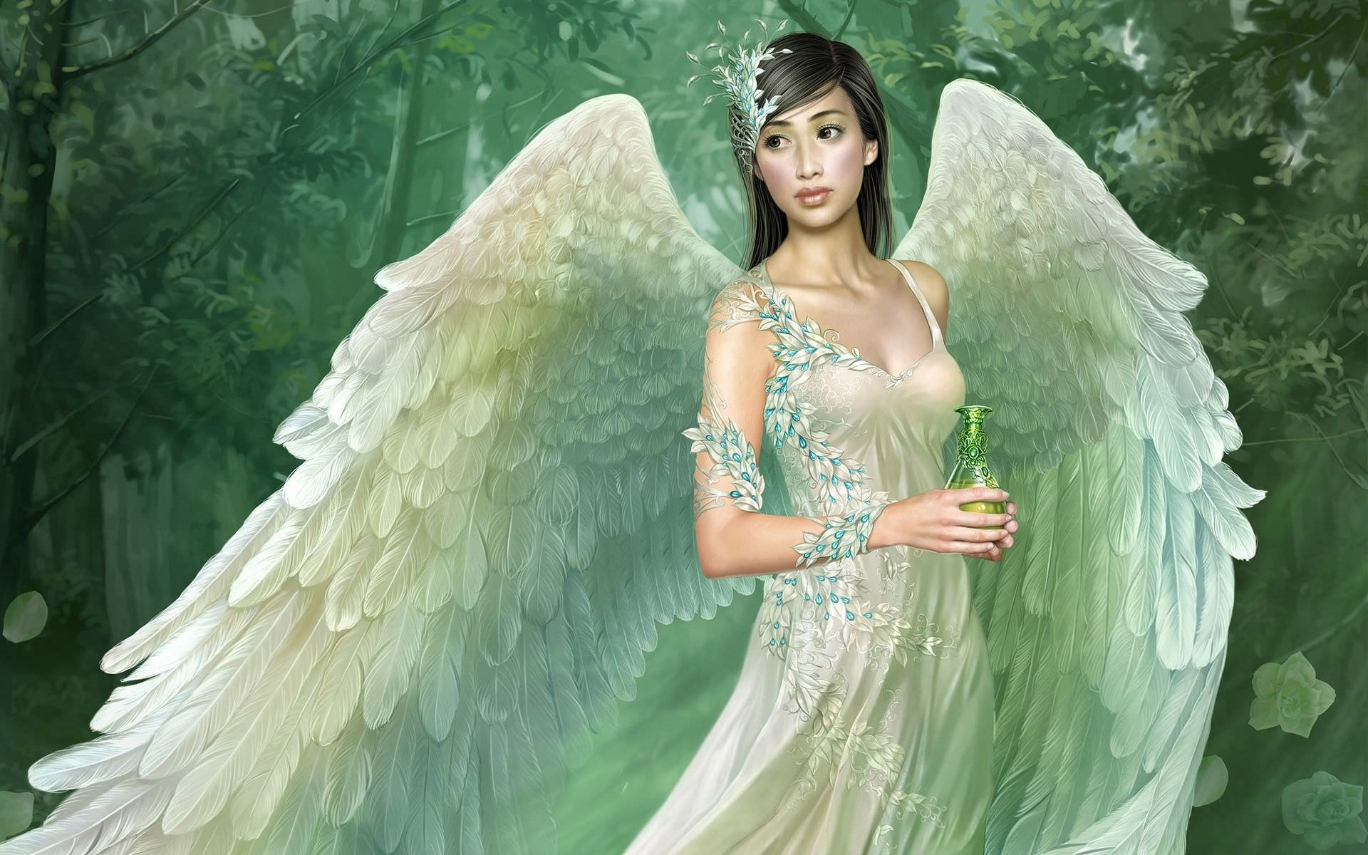 Awesome Real Fairy Wallpaper