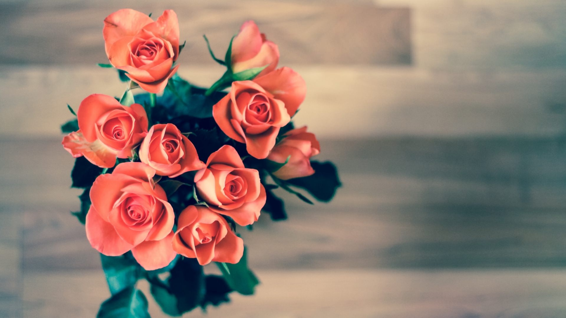 Awesome Rose Bouquet Wallpaper