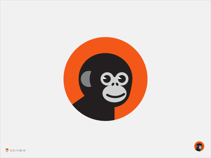 Baby Chimp Logo Design