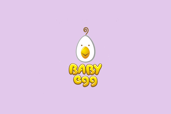 Baby Egg Logo Design For You