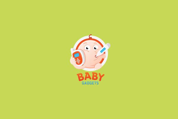 Baby Gadgets Logo Design