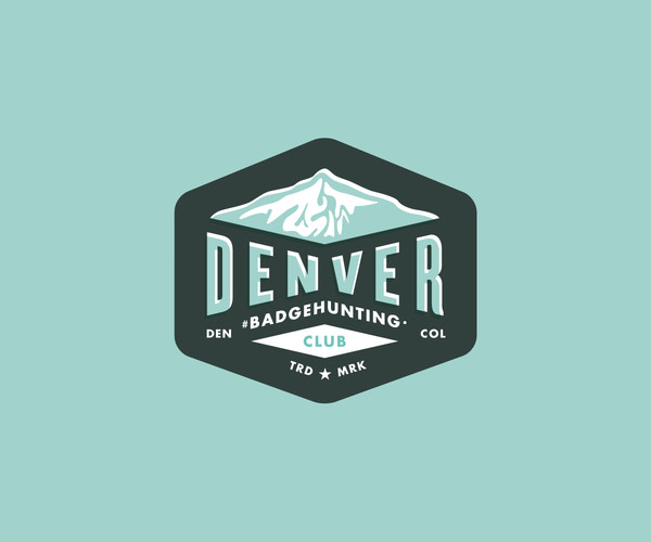 Badge Hunting Denver Logo