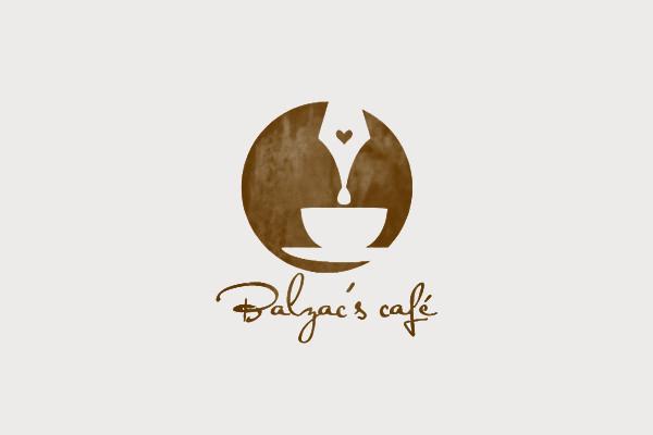 Balzac's Café Coffee Cup Logo