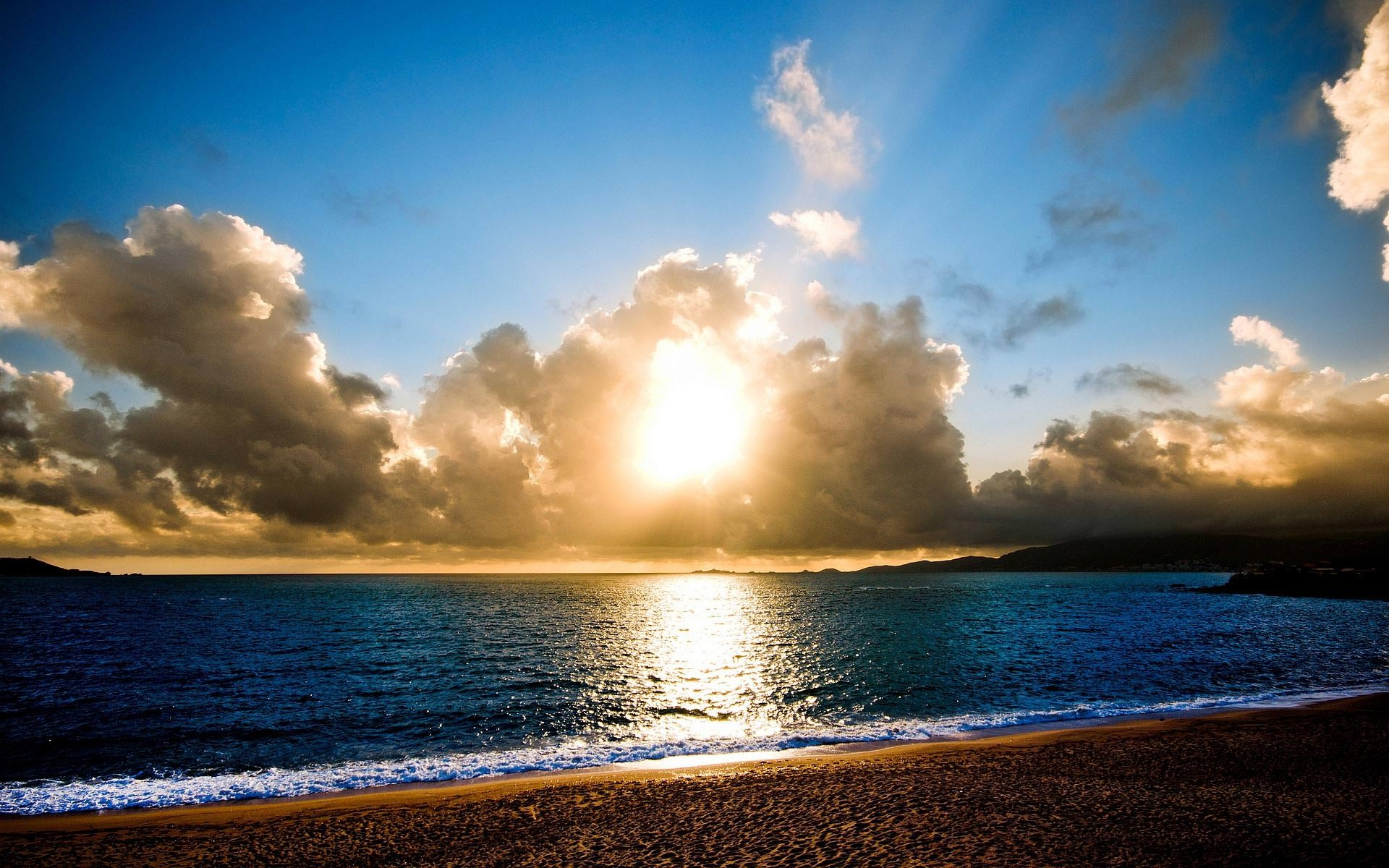 Beach Sunrise Wallpaper For Desktop