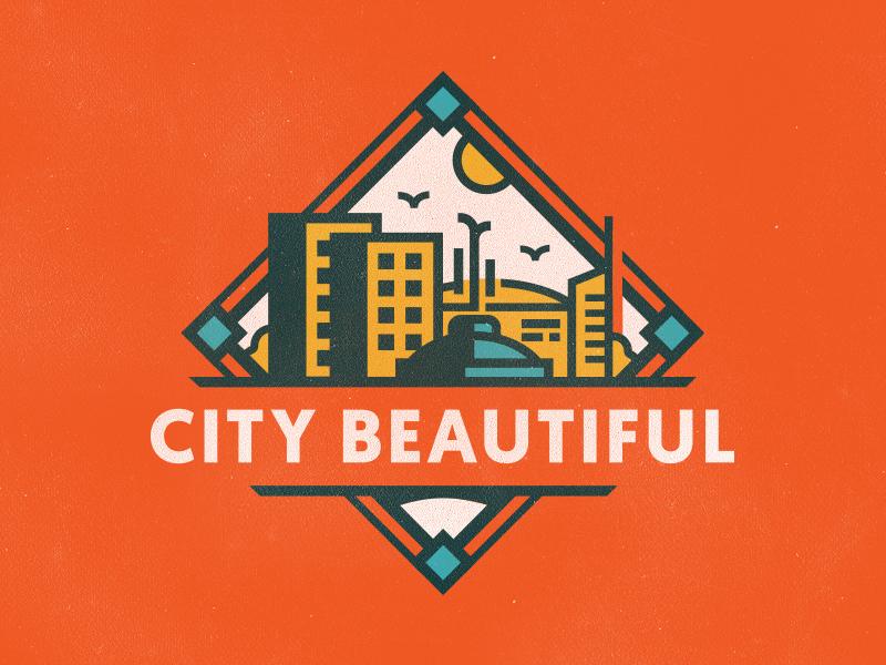 beautiful city logo design