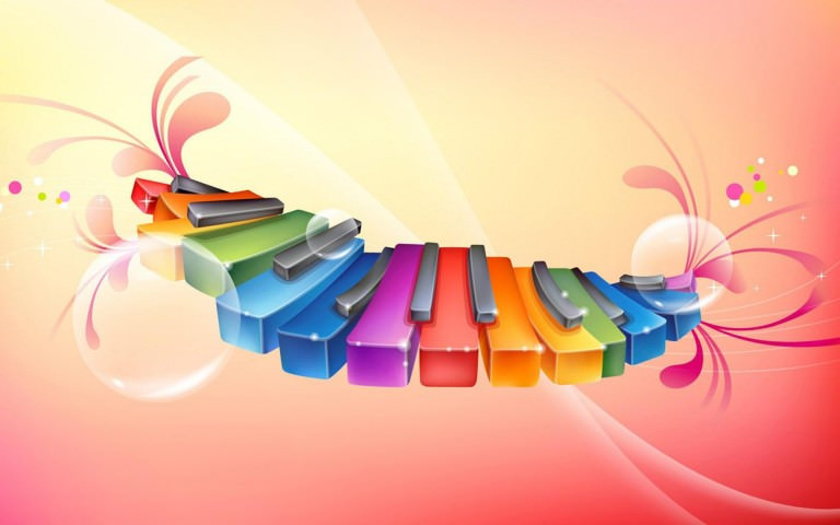 Beautiful Colorful Art Wallpaper