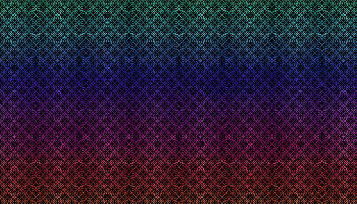 Beautiful Fancy Pixel Pattern