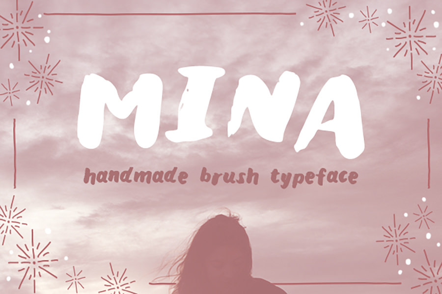 Beautiful Mina Font