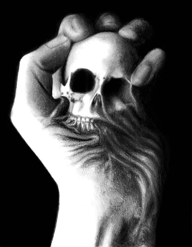 Beautiful Skull Drawings