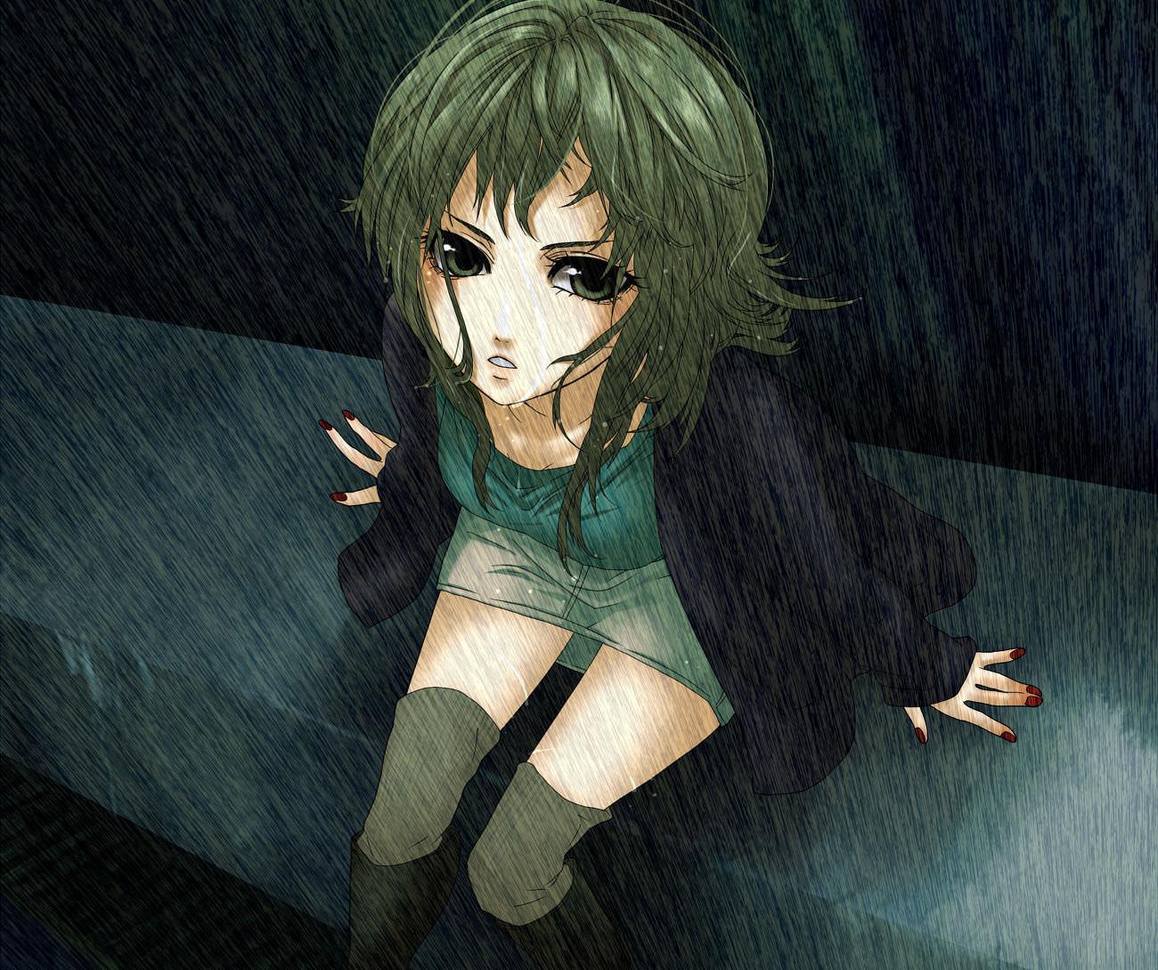 Beautiful Vocaloid Gumi Wallpaper