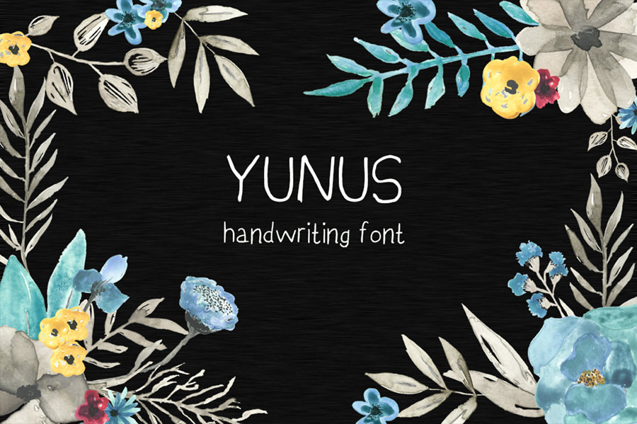 Beautiful Yunus Font
