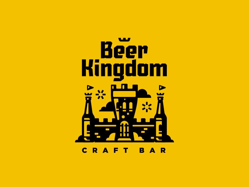 beer kingdom craft bar logo