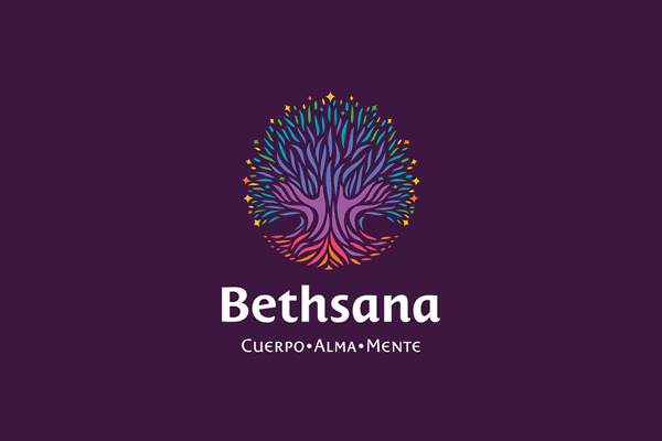 Bethsana Colorful Plant Logo