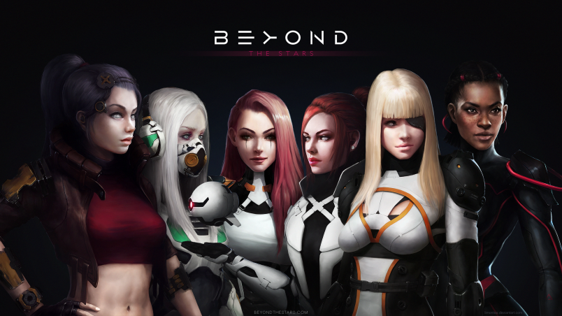 Beyond The Stars Wallpaper