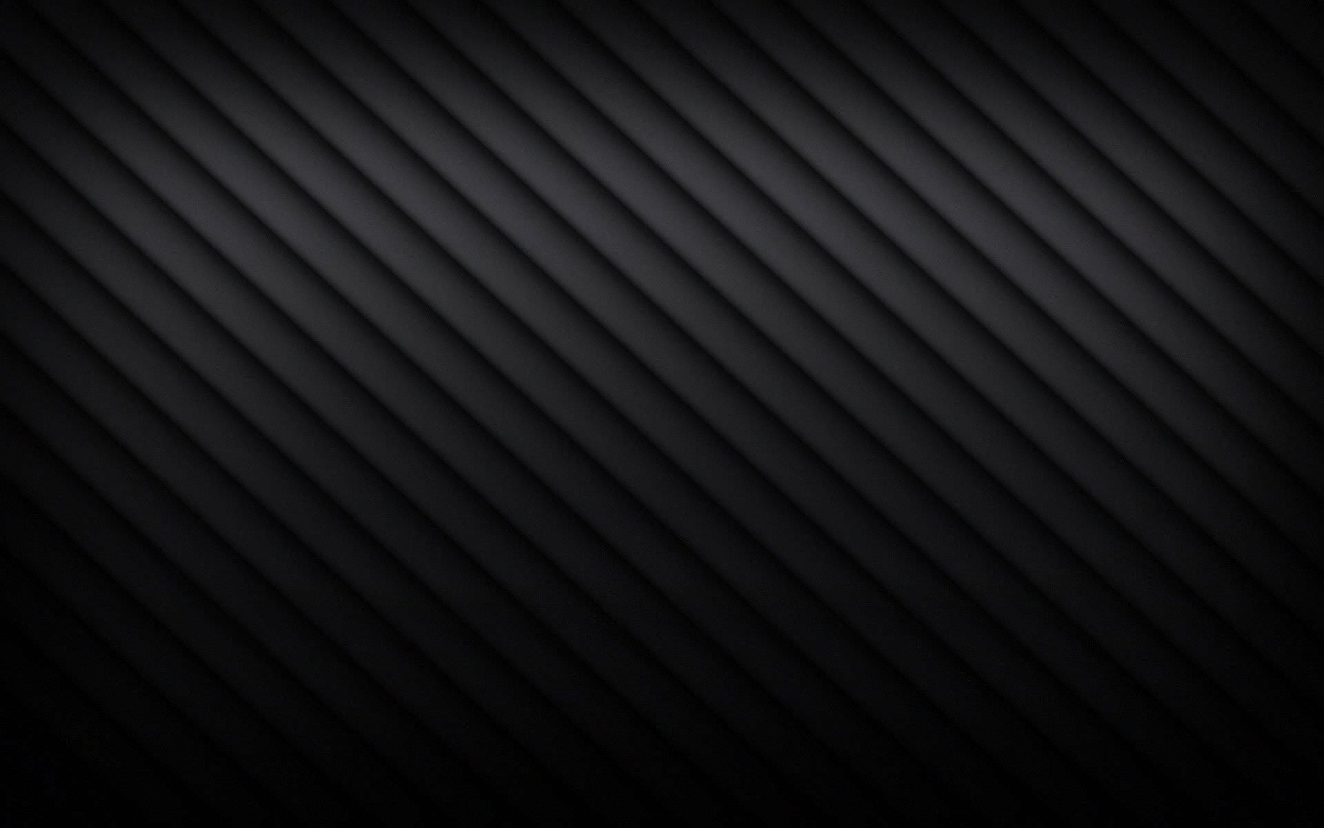 Black Abstract Lined Wallpaper