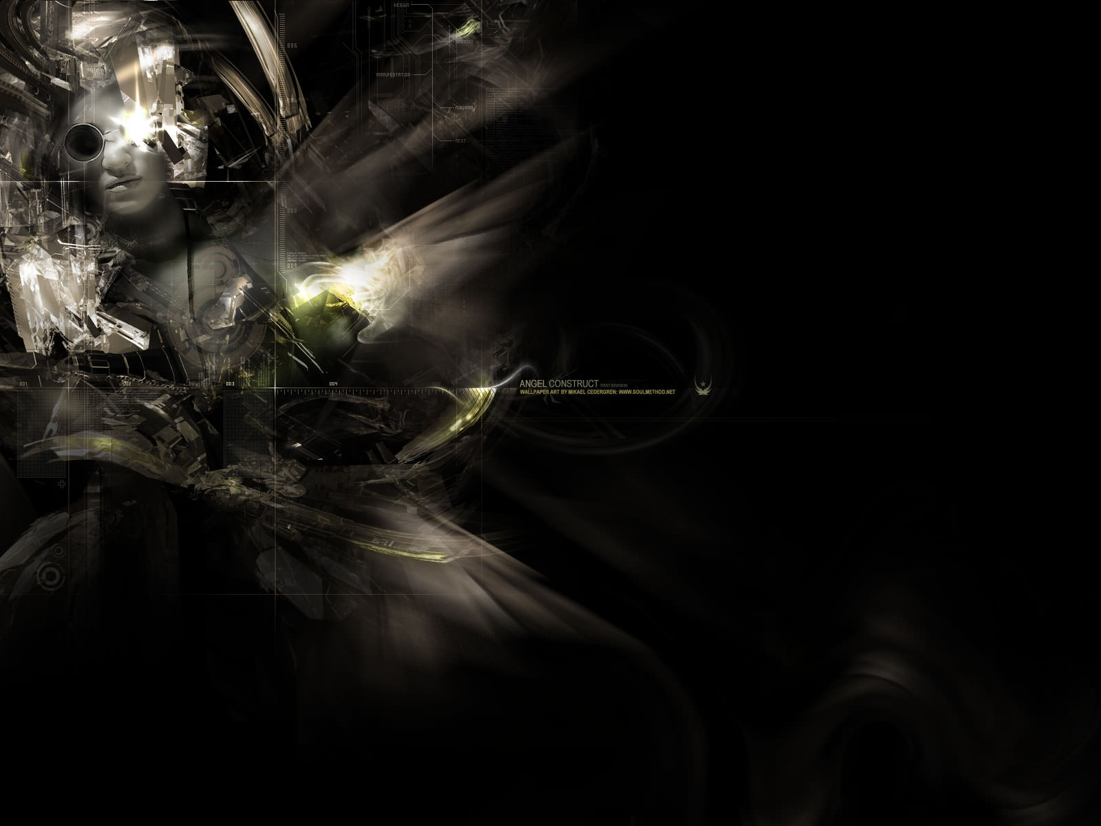 dark abstract technology wallpaper -#main
