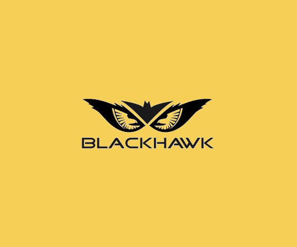 Black Hawk Logo For Free